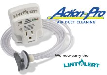 lint alert at action pro cleaning